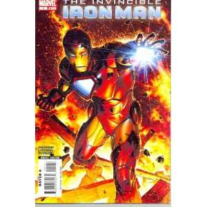 Invincible Iron Man # 2 comic (2008)