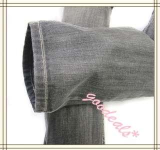Stretch Skinny Low Rise Cotton Jeans Slim Fit Trousers Denim Pants #05