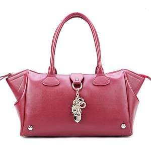 Leather Purse Shoulder Bag Handbag Satchel Love Heart Charm Fashion