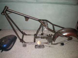 FRAME 2 UP CHOPPER HARLEY WEST COAST CHOPPERS JESSE JAMES TANK FENDER