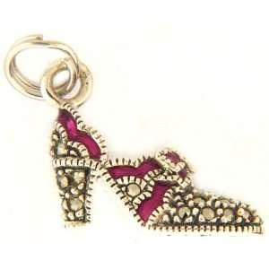 Judith Jack High Heel Shoe Charm Jewelry