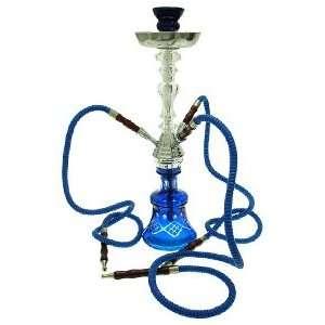 24 3 Hose Blue Crystal Style Maju Hookah