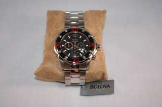 Bulova Marine Star Chronograph 96B154 For Men New NoBox   Awesome