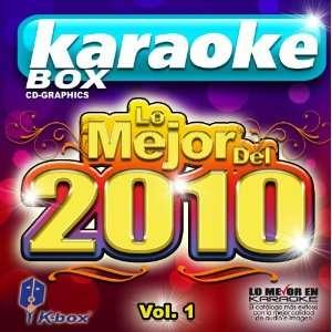 KBO 319 Lo Mejor Del 2010 Vol. 1(Karaoke) Martha Snchez