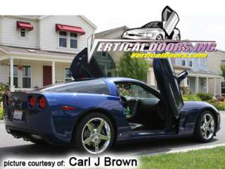 CHEVY CORVETTE C6 05 09 LAMBO DOOR KIT VERTICAL DOORS
