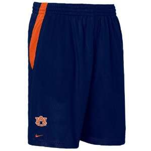 Auburn Tigers 10? Inseam Blue Dri FIT College Mesh Shorts