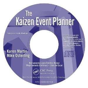 Kaizen Event Planner   Spanish CD ROM (9781420083750