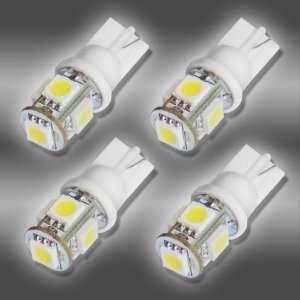 4x 5 SMD White High Power LED Car Lights Bulb Automotive