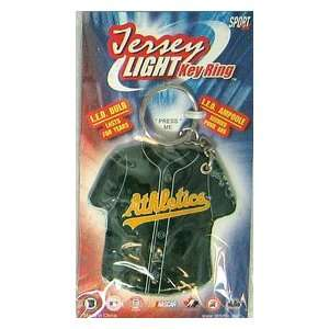 Oakland Athletics Jersey Keylight Keychain