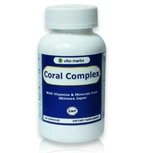 Vitanherbs CORAL COMPLEX, Coral Calcium With Vitamins and