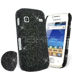 Femeto Black Fine Sparkle Glitter Back Cover Case for