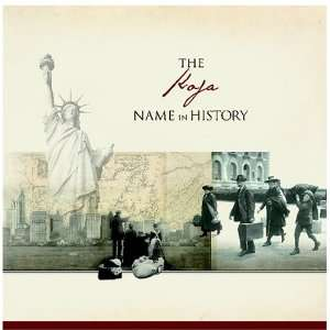 The Koja Name in History Ancestry Books