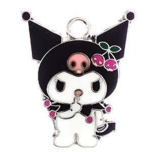 12X DIY Jewelry Making Sanrio Kuromi charm Arts, Crafts