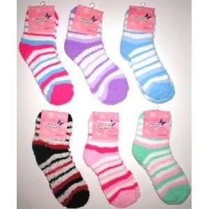 Wholesale Lot 48 Pairs Womens Fuzzy Socks Warm Winter Sox
