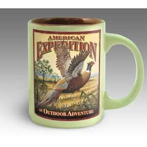Pheasant Vintage Art Coffee Mug