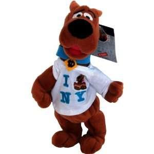 Scooby Doo I Love NY   Warner Bros Bean Bag Plush