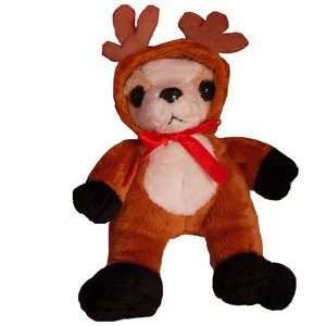 CHIHUAHUA dog CHRISTMAS REINDEER toy STUFFED ANIMAL Toys