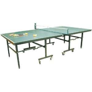 HDC Table Tennis Set with 4 Paddles, 12 Balls, and a Net with Posts