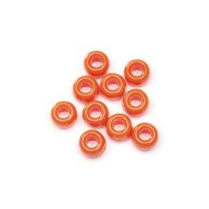 Acrylic Pony Beads   720pcs.   Opaque Orange: Arts, Crafts & Sewing