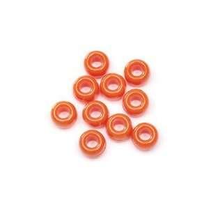 Acrylic Pony Beads   720pcs.   Opaque Orange: Arts, Crafts & Sewing