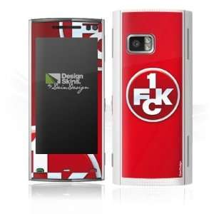Design Skins for Nokia X 6   1. FCK Logo Design Folie