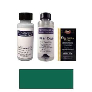 2 Oz. Emerald Green Pearl Metallic Paint Bottle Kit for