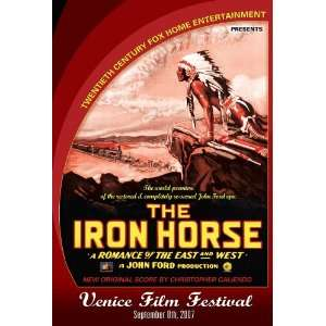 The Iron Horse Poster Venice Film Festival Limited Edition 27x40