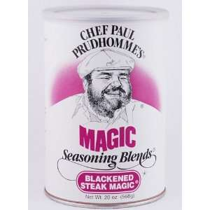 Chef Paul Prudhommes Blackened Steak Magic 20 Oz:  Grocery
