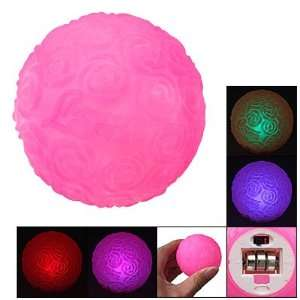 Battery Powered 7 colors Rose Flower Ball LED Light
