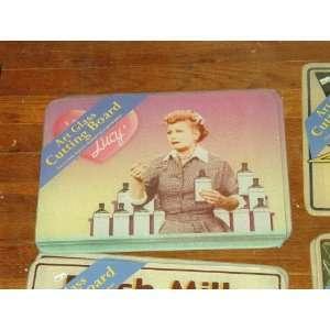 Art Glass Cutting Board  I Love Lucy