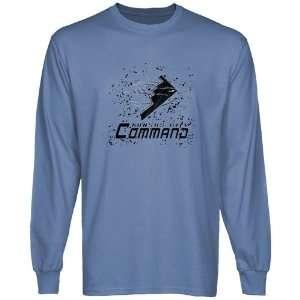 Kansas City Command Scribble Sketch Long Sleeve T shirt