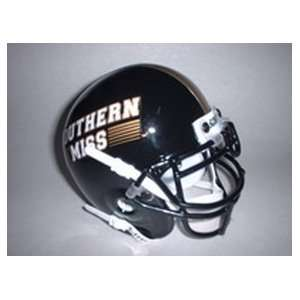 2002 Southern Miss Golden Eagles Throwback Mini Helmet