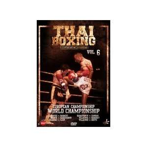 Thai Boxing Vol 6 European & World Championship DVD