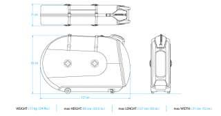 BIKND Helium Travel Bike Case Choose From 2 Color Options