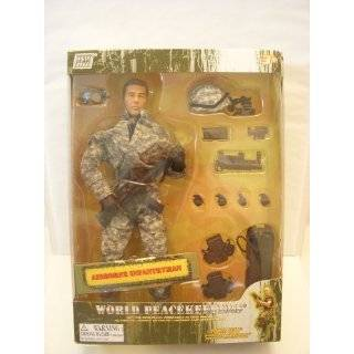 World Peacekeepers 12 Action Figure   Airborne Infantryman