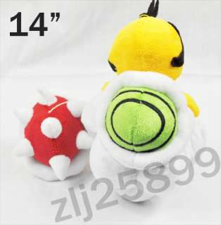 LAKITU SPINY14 Super Mario Bros Plush Toy M17