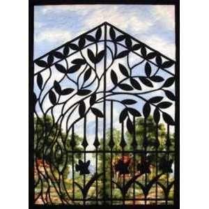 6101 NT SUMMER GATE LASER CUT FUSIBLE APPLIQUES Arts