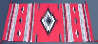 Western Southwestern Design Saddle Blanket/Throw Rug 32 X 64