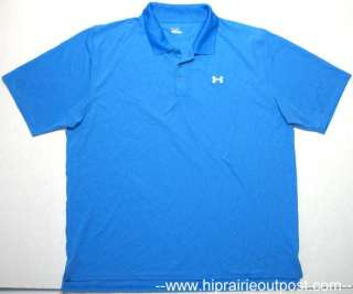 Under Armour Heat Gear Short Sleeve Polo Shirt Mens Size 3XL XXXL