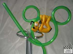 Pluto sipper straw, Disney; Applause Mickey Mouses Dog