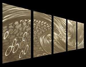 MODERN ABSTRACT Metal Wall Art Decor Sculpture Painting