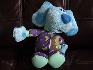 Blues Clues Singing Bedtime Plush Toy Fisher Price