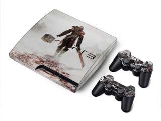 Vinyl Skin Sticker Decal Cover For Sony PS3 Slim & 2RC