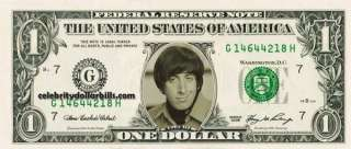 HOWARD WOLOWITZ CELEBRITY DOLLAR BILL MINT US CURRENCY CASH