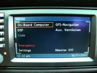 BMW NAVIGATION WIDE SCREEN MONITOR RADIO E38 E39 M5 X5