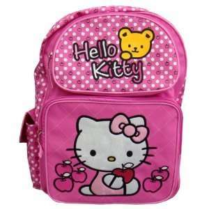 Hello Kitty Large Backpack (Pink W/bear)