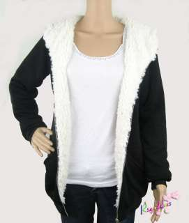 Q020 Winter Hooded Fleece jacket Hoodie Zip Top