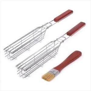 Bbq Grill Outdoor Cooking Accessory Kebab Tool Set