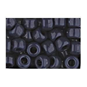 NAVY BLUE CROW BEADS PONY BEADS: Arts, Crafts & Sewing