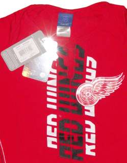 Detroit Red Wings womens NHL long sleeve shirt L new